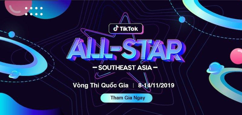 TikTok khởi động cuộc thi Ngôi sao Đông Nam Á 2019