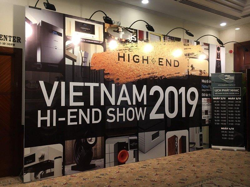 Hình ảnh khai mạc triển lãm Vietnam Hi-End Show 2019