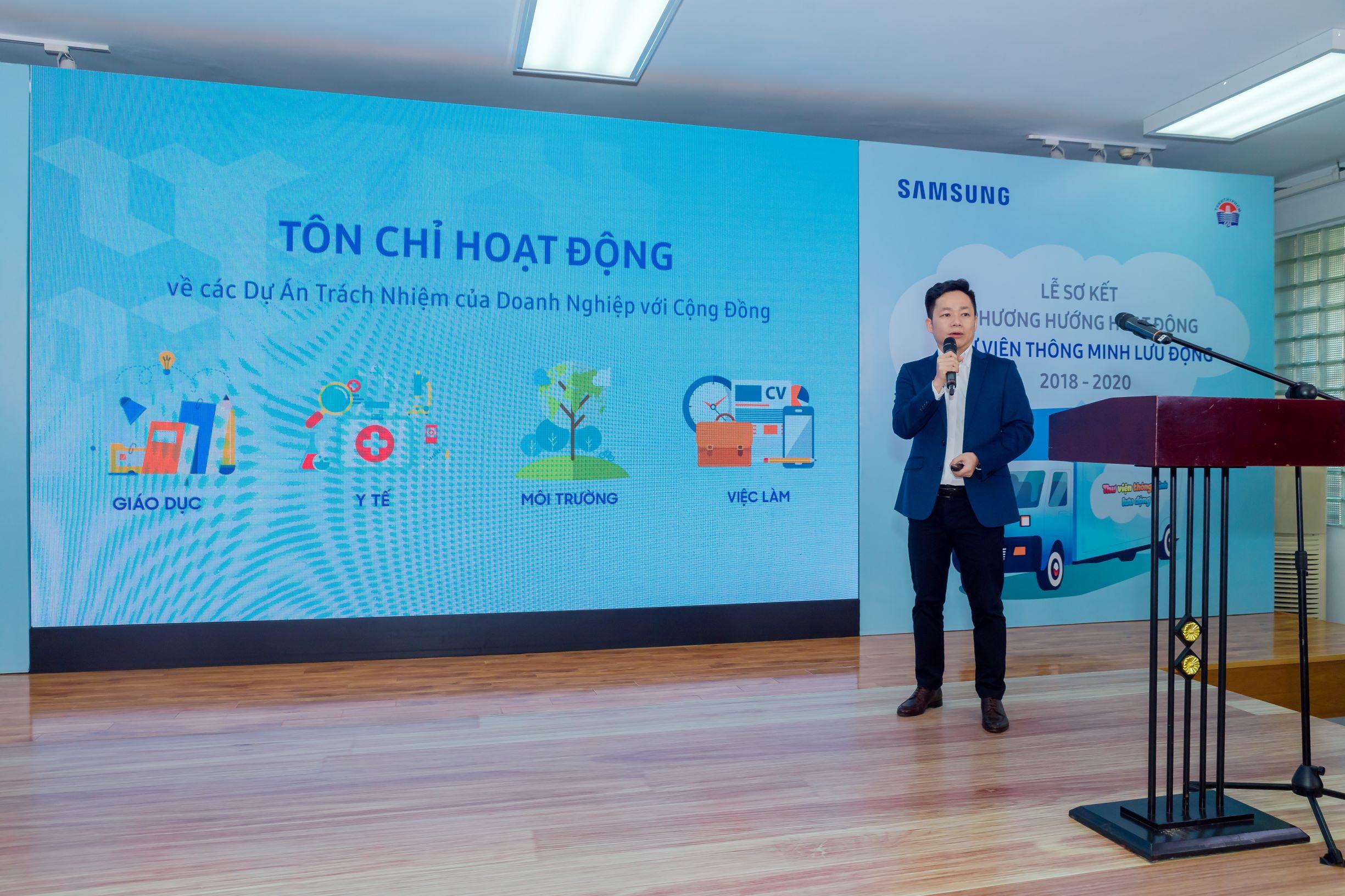 Samsung tiếp tục mở rộng địa bàn phục vụ Thư Viện Thông Minh Lưu Động