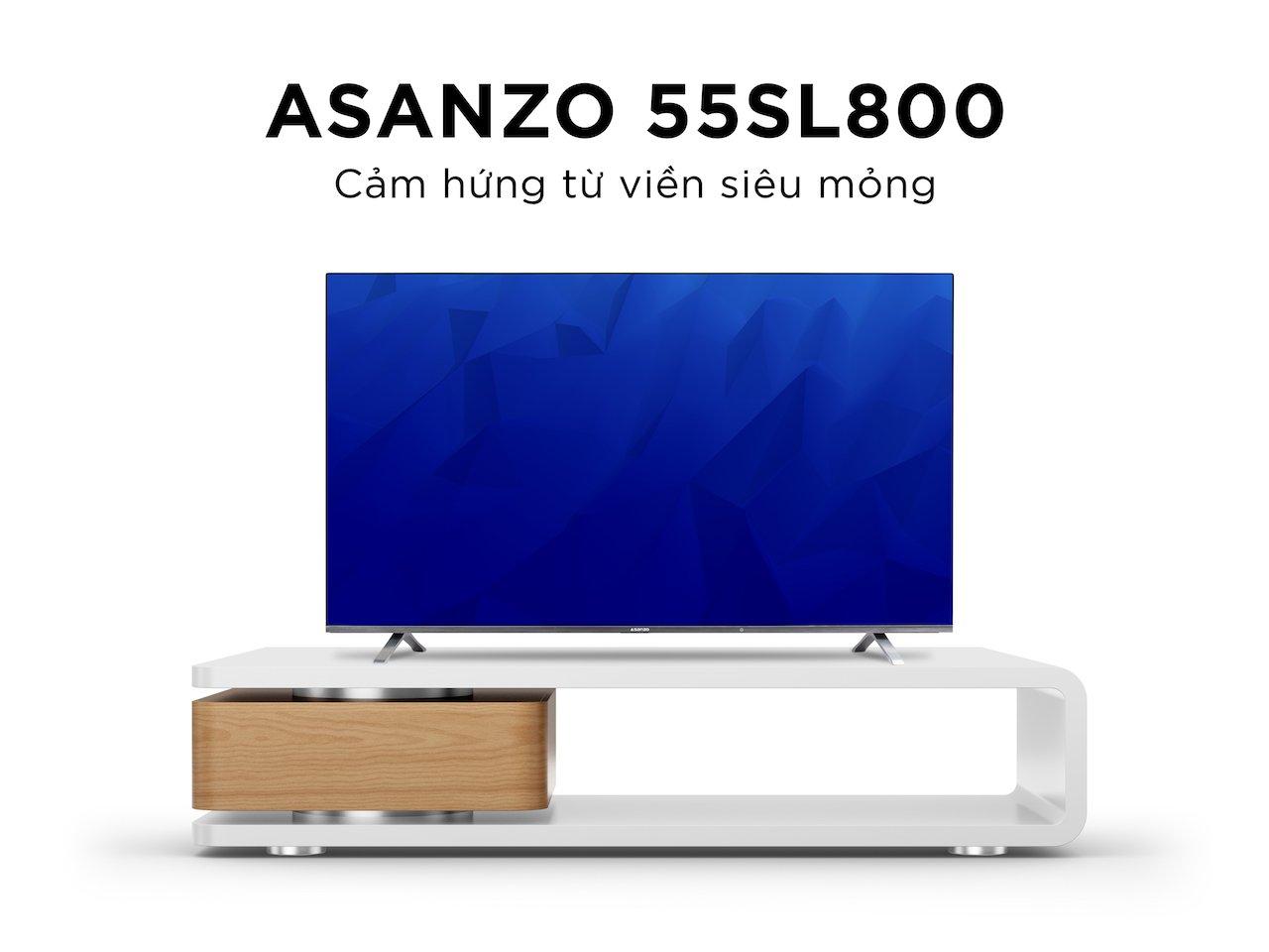 Asanzo giới thiệu iSLIM TV kích thước từ 32 đến 55 inch