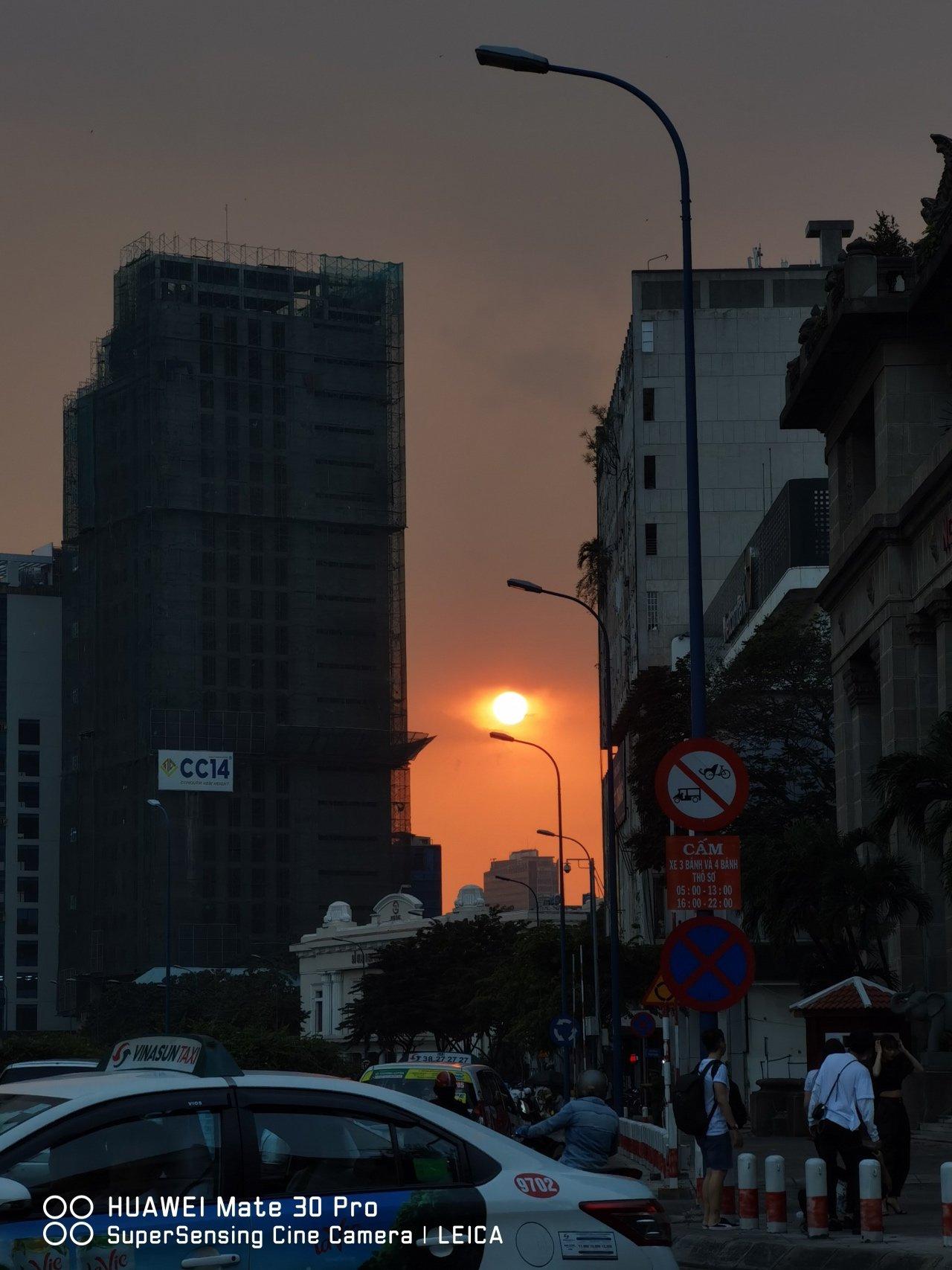 Ảnh chụp từ Huawei Mate 30 Pro