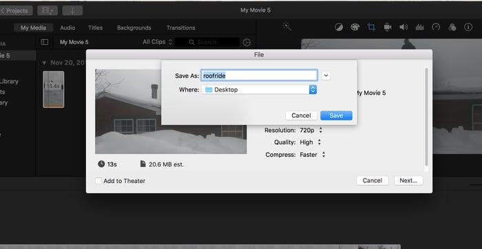Làm thế nào để cắt video trên máy Mac bằng ứng dụng iMovie?