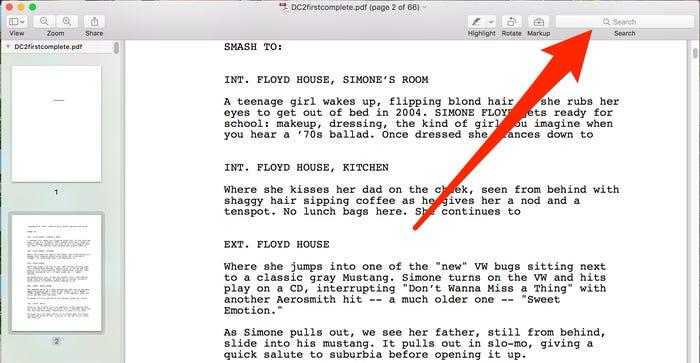 Dùng ứng dụng Preview để tìm kiếm từ, cụm từ cụ thể trong tập tin PDF trên máy Mac