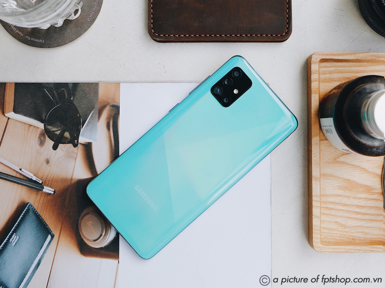 FPT Shop bán Samsung Galaxy A51 với ưu đãi trả góp không lãi suất