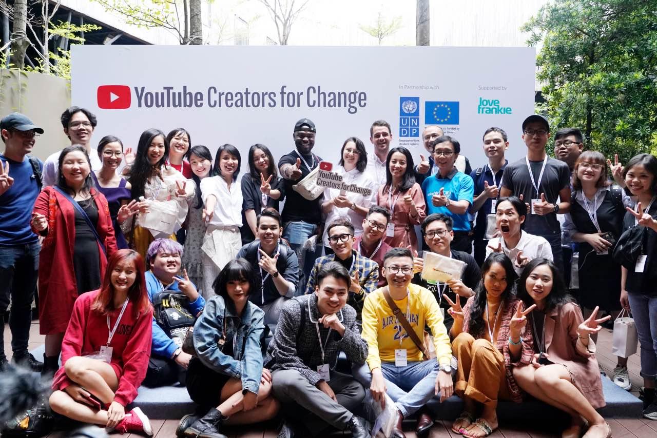 YouTube khởi động chương trình Creators for Change