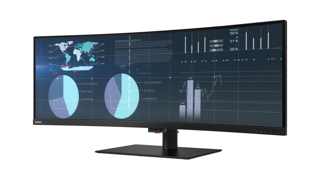 Lenovo giới thiệu 3 màn hình ThinkVision mới dành cho doanh nghiệp