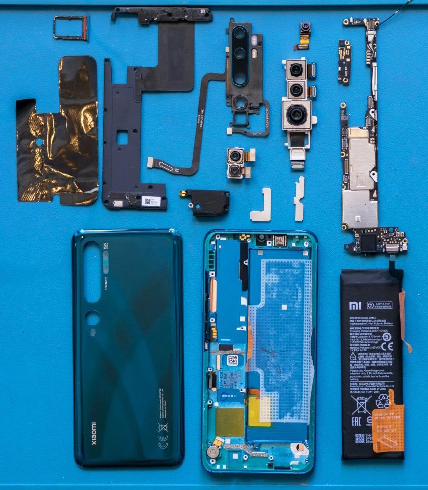 Xiaomi tổ chức buổi 'bung máy' Mi Note 10