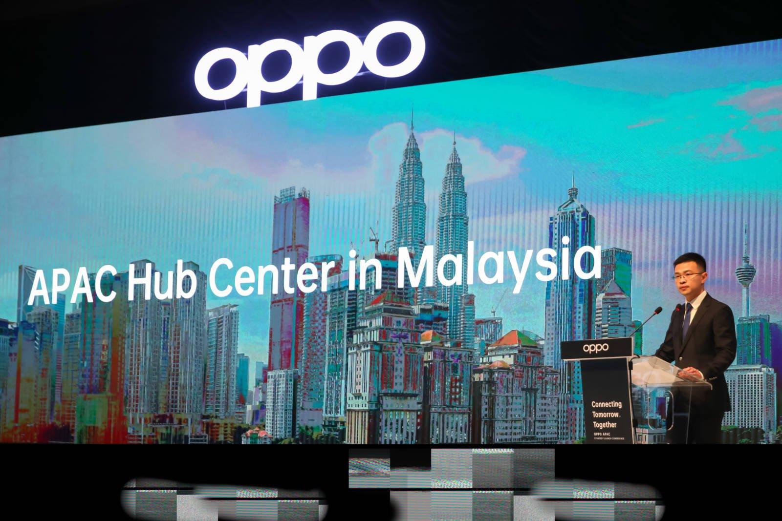 OPPO ra mắt trung tâm chiến lược APAC