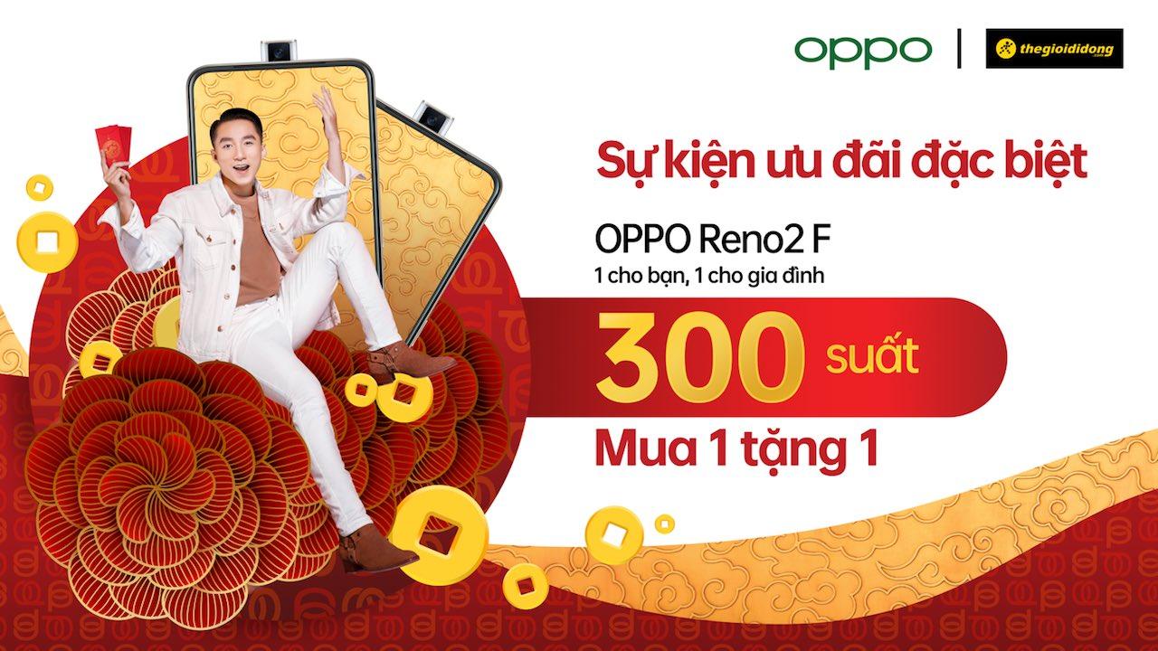 OPPO và Thế Giới Di Động mở sự kiện ưu đãi độc quyền OPPO Reno2 F