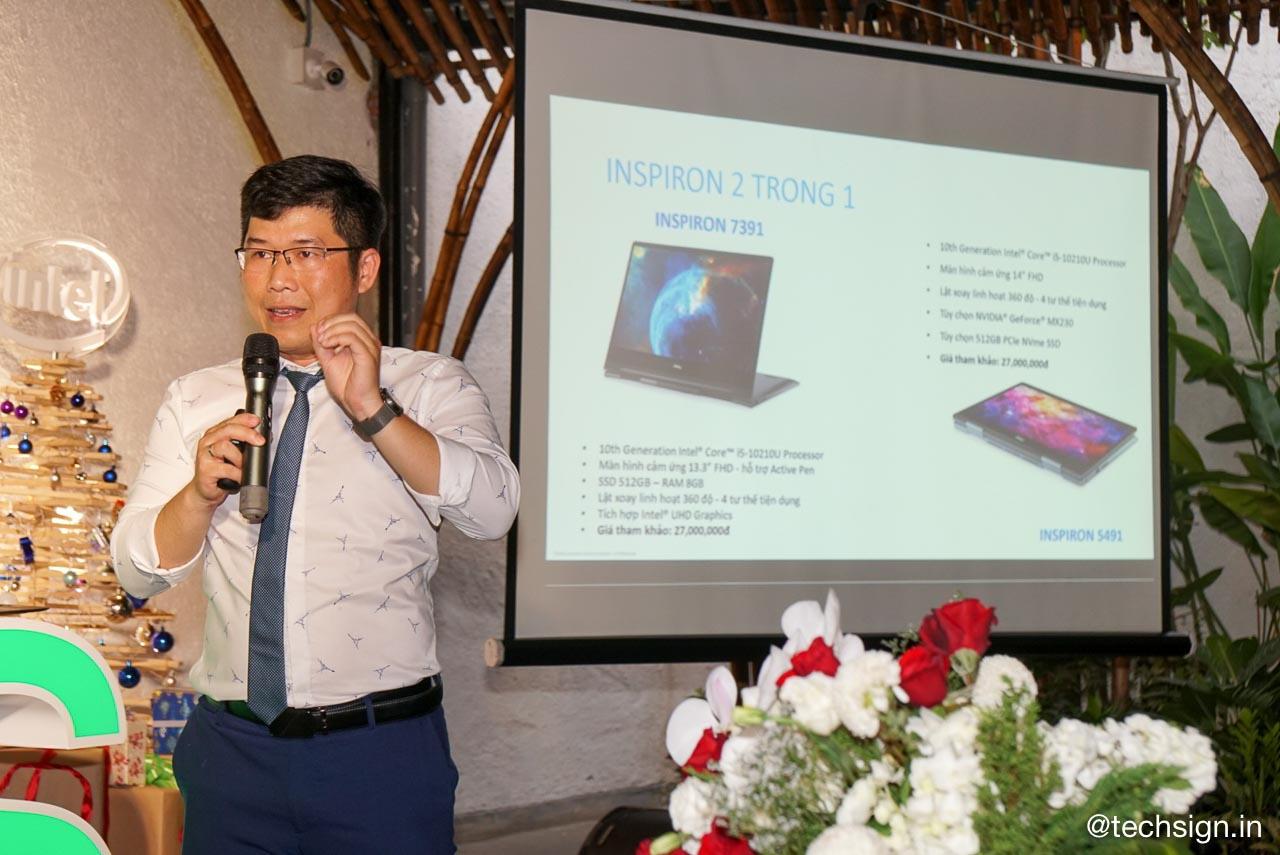Ra mắt Dell XPS 13, Inspiron 13 dùng Intel Core thế hệ 10