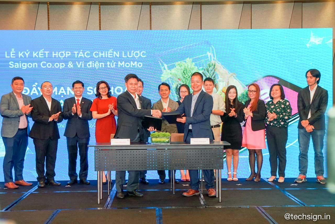 Saigon Co.op chính thức ký kết hợp tác chiến lược cùng ví điện tử MoMo