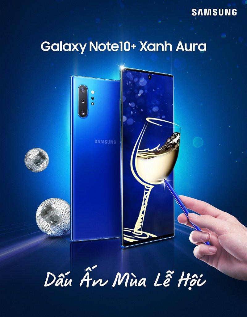 Samsung trình làng hai phiên bản màu mới cho bộ đôi Galaxy Note 10