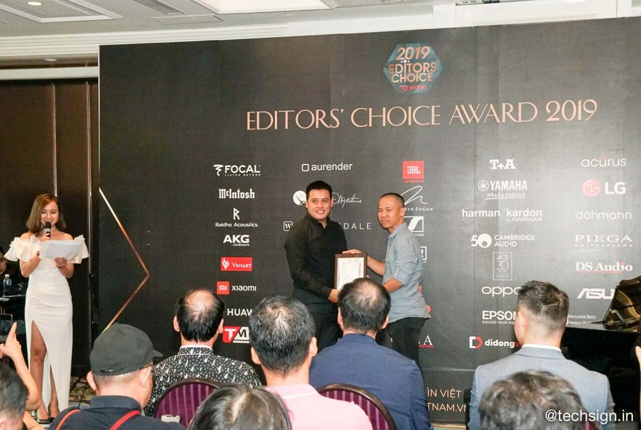 Tạp chí Nghe Nhìn Việt Nam trao giải Editors' Choice Awards 2019