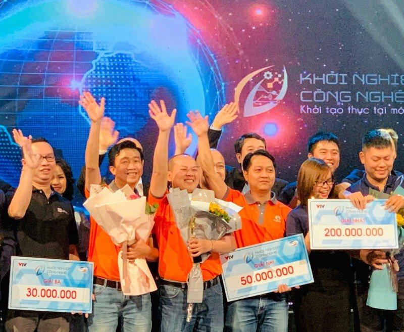 Thế Giới Thợ đoạt giải Á quân Khởi Nghiệp Công Nghệ mùa đầu tiên