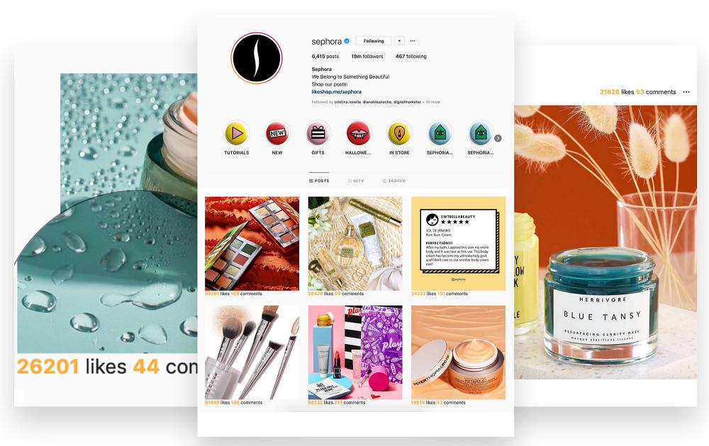 Tiện ích The Return of Likes trên Chrome giúp hiển thị số lượt thích Instagram