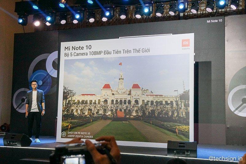 Xiaomi vừa giới thiệu Mi Note 10, máy lọc không khí và vali du lịch