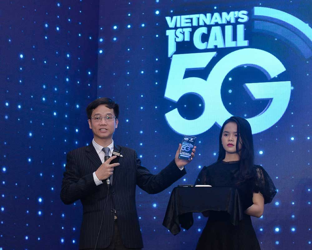 Việt Nam vừa thực hiện cuộc gọi 5G đầu tiên