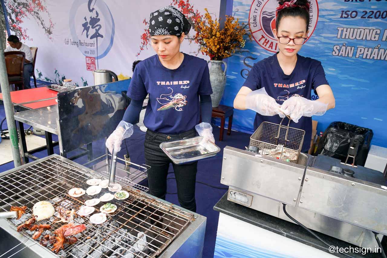 Lễ hội ẩm thực Bếp ăn Chợ Lớn do UBND Quận 5, Grab và Outbox phối hợp tổ chức
