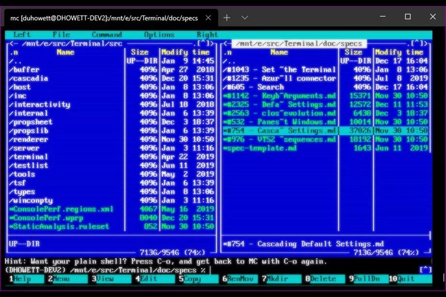 Microsoft cập nhật hiệu ứng CRT phong cách retro cho ứng dụng Windows Terminal