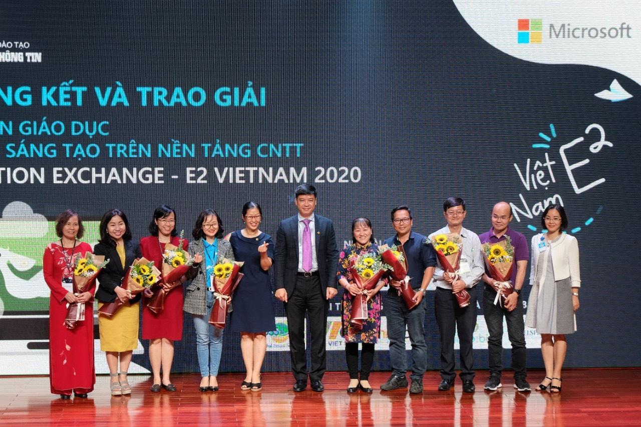 Microsoft công bố những dự án xuất sắc nhất Diễn đàn Education Exchange 2020