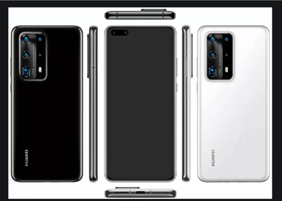 Lộ ảnh module camera sau Huawei P40, cảm biến chính 52MP