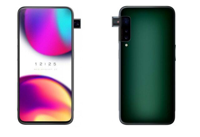 OPPO muốn phát hành smartphone có camera pop-up ở cạnh bên