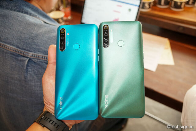 Realme 5i lên kệ hôm nay, hai phiên bản bộ nhớ, giá từ 3,7 triệu đồng