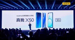 Realme X50 ra mắt toàn cầu, hỗ trợ mạng 5G, dùng Snapdragon 765G