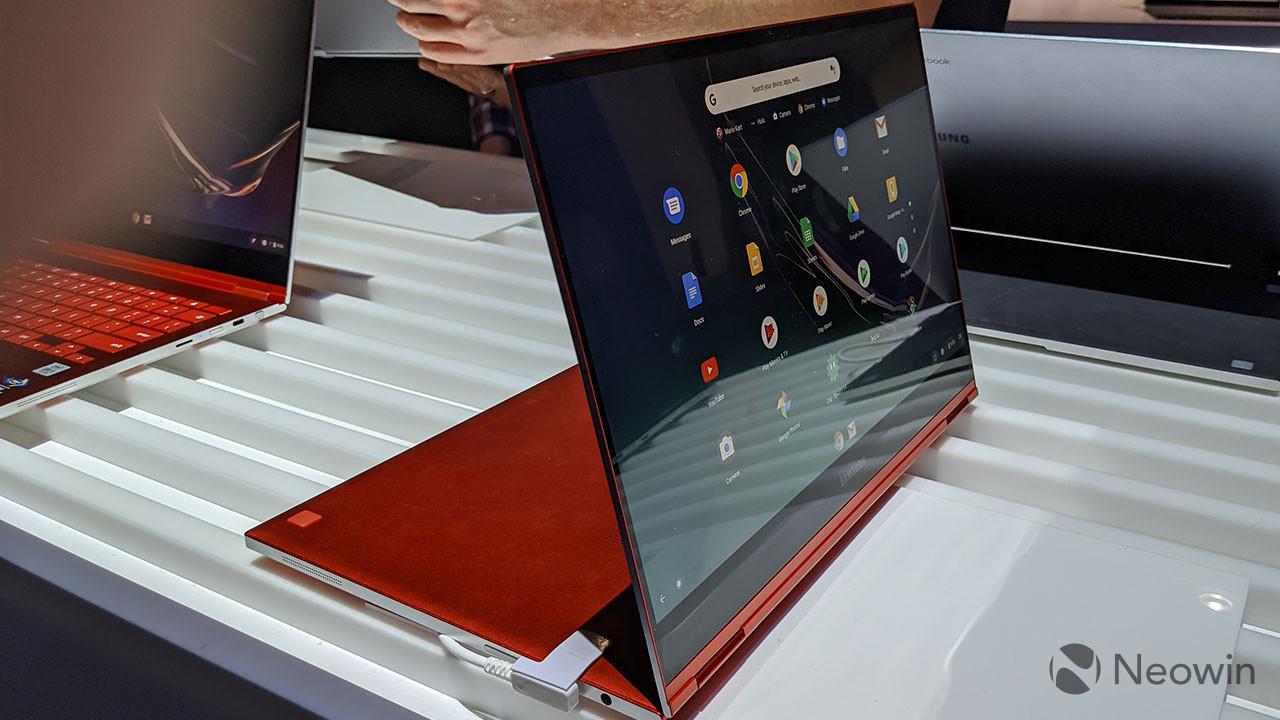 Samsung Galaxy Chromebook: màn hình 4K AMOLED, mỏng nhẹ và có bút S Pen đi kèm