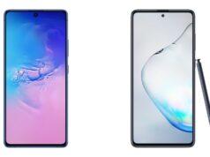 Samsung Galaxy S10 Lite và Galaxy Note10 Lite ra mắt