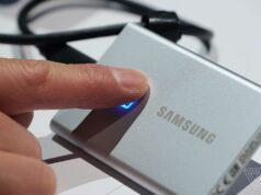 Samsung giới thiệu ổ cứng SSD T7 Touch, bổ sung máy quét vân tay bảo mật