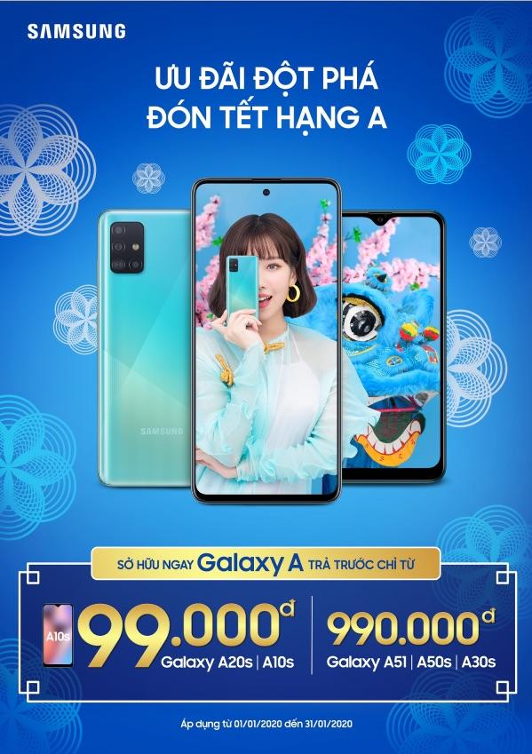 """Samsung tung """"Ưu đãi đột phá – Đón Tết hạng A"""""""