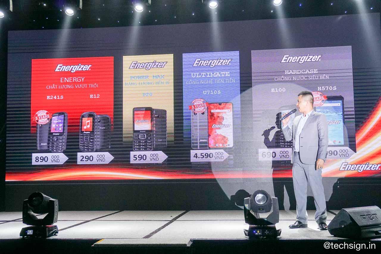 Smartcom phân phối độc quyền điện thoại Energizer tại Việt Nam