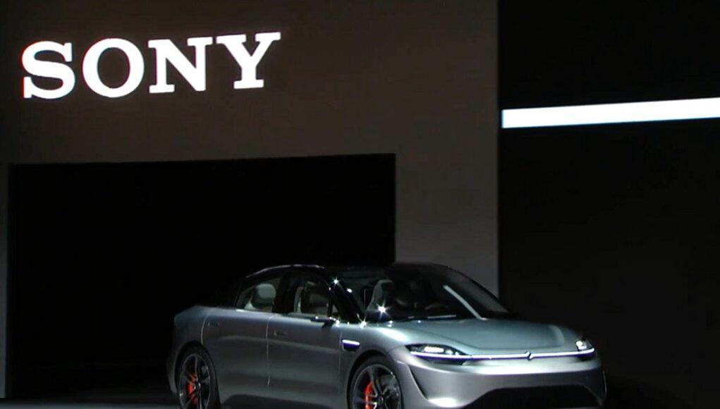 Sony bất ngờ ra mắt xe điện Vision-S tại Triển lãm CES 2020