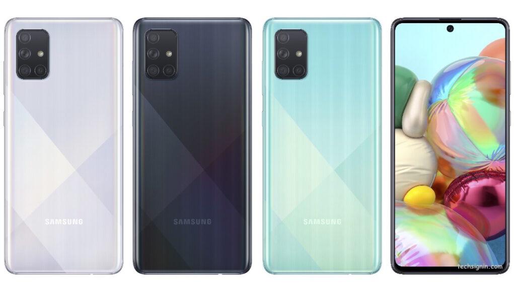 Samsung Galaxy A71 ra mắt, 4 camera sau, pin 4.500mAh và sạc nhanh