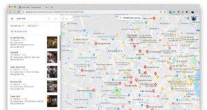 Tìm quán ăn ngày Tết với ứng dụng Google Maps