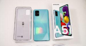 Mở hộp và trải nghiệm nhanh Samsung Galaxy A51