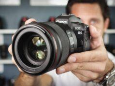 Canon thông báo phát triển máy ảnh mirrorless full-frame EOS R5 và ống kính RF mới