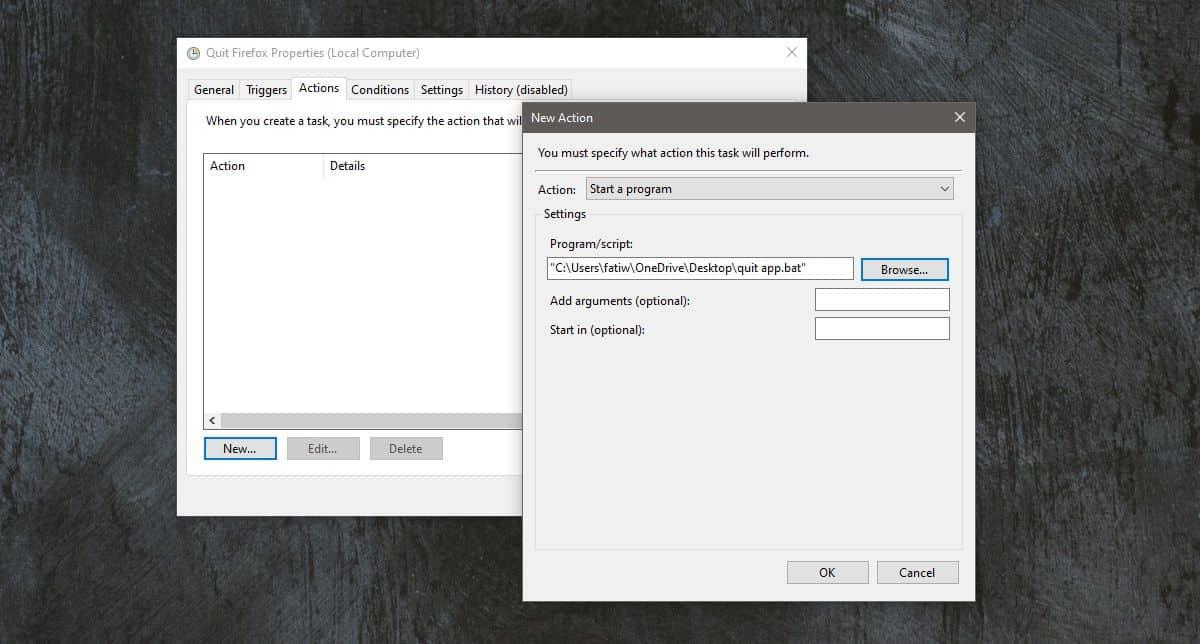 Lên lịch đóng ứng dụng trên Windows 10