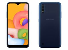 Ra mắt Samsung Galaxy A01 giá 2,79 triệu, bán từ 6/2