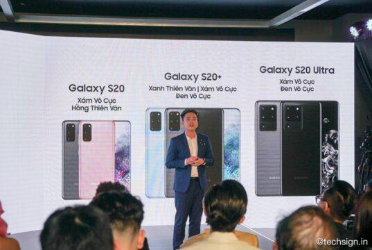 Samsung Galaxy S20 series ra mắt: giá từ 21,5 triệu, bán ngày 6/3
