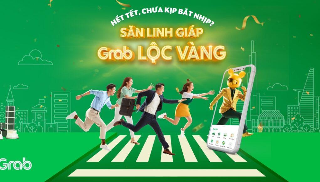 """Grab mở thử thách """"Săn Linh Giáp, Grab Lộc Vàng"""""""
