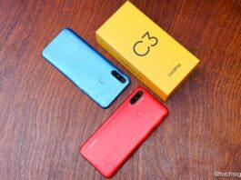 Trên tay Realme C3: 3 camera sau, pin 5.000 mAh, giá 2,99 triệu