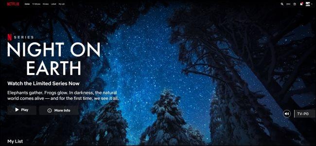 Tắt tính năng tự động phát xem trước trên Netflix