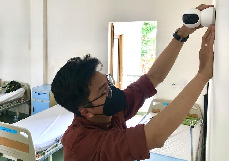 Xiaomi tài trợ 20 camera thông minh cho bệnh viện dã chiến Củ Chi chống dịch Corona