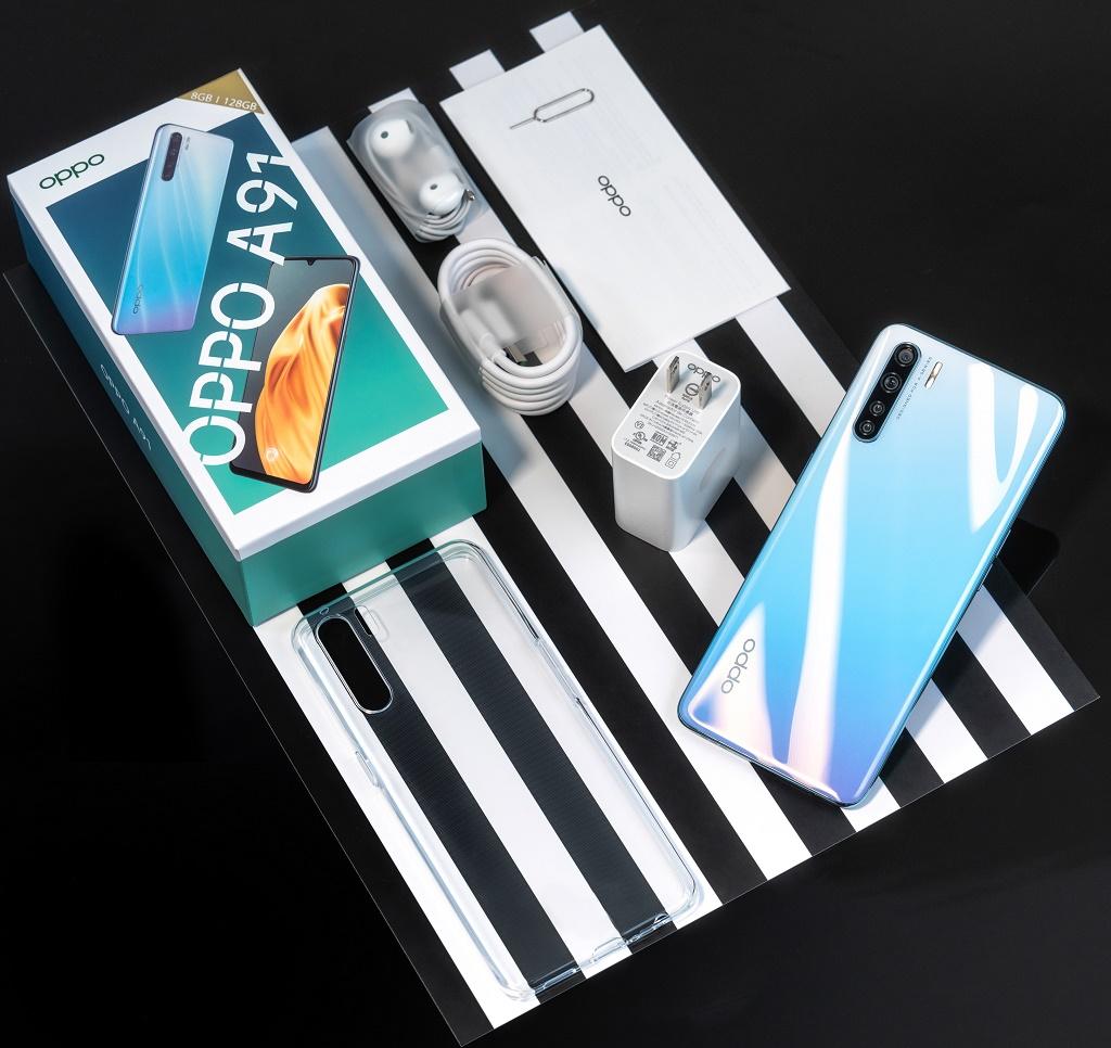 OPPO A91 lên kệ: 4 camera 48 MP, sạc nhanh VOOC 3.0, giá 7 triệu