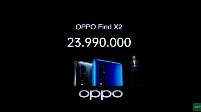 OPPO Find X2 chính thức mở bán từ 1/4, giá 23,99 triệu đồng