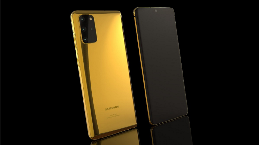 Samsung Galaxy S20 trở nên xa xỉ hơn với những phiên bản mạ vàng 24K, khảm ngọc...