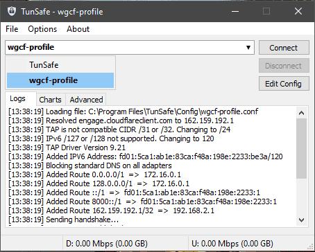 Sử dụng WARP+ (1.1.1.1) trên Windows, macOS, Ubuntu