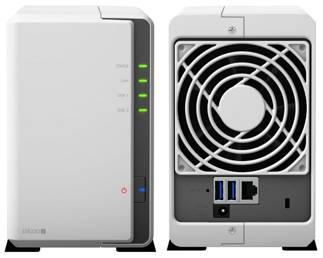 Synology ra mắt Diskstation DS220J, hỗ trợ lưu trữ đến 32TB